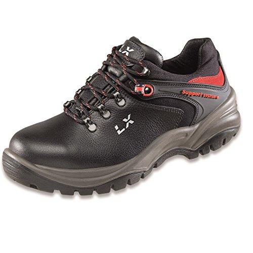 Lupriflex 1 Paar Trail Duo Shoe Sicherheitshalbschuh, S3, Schuhweite 11,5 Schwarz Größe 39-47