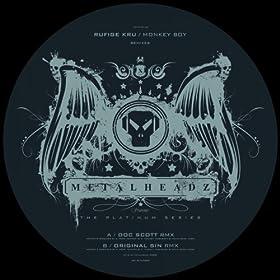 Doc Scott / Rufige Kru - VIP Drumz / VIP Riders Ghost (The Origin)