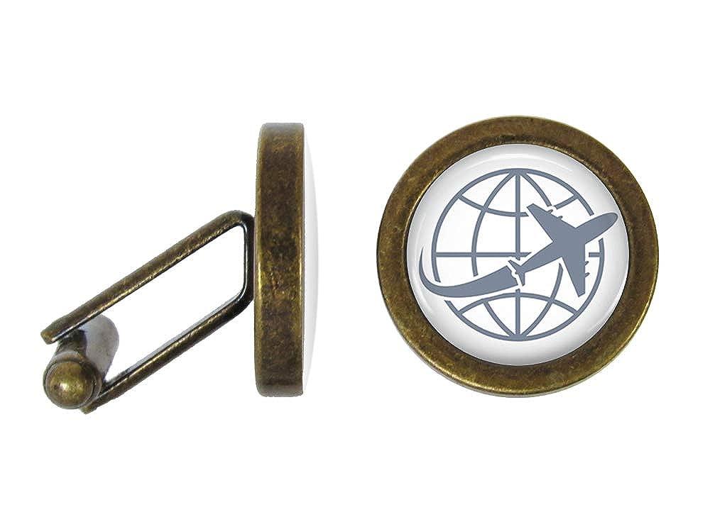 Angled Edition Oakmont Cufflinks Around The World Cufflinks World Traveler Cuff Links