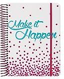 Make It Happen 2018 Weekly Note Planner Spiral Bound by