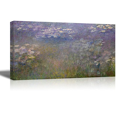 Ploughing in Nevers by Rosa Bonheur Print Famous Painting Reproduction (Water Lilies by Claude Monet)