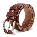 Vintage Genuine Men's Casual Leather Belt Causal