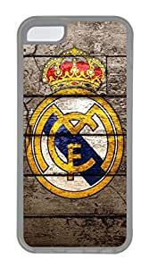 iphone 6 plus Case, iphone 6 plus Cases - Full-body Rugged Soft Rubber Case for iphone 6 plus Fc Real Madrid Crystal Clear Back Panel Case for iphone 6 plus