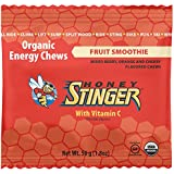 Honey Stinger Organic Energy Chews, Fruit Smoothie, 1.8 Ounce (Pack of 12)