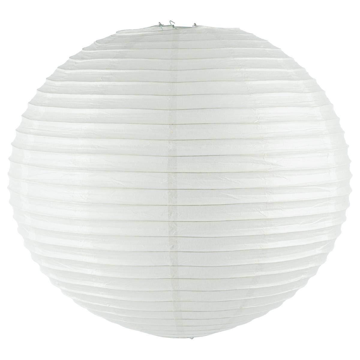 Blanco-Farol esfé rico de papel 60 cm de diá metro-Esfera Atmosphera
