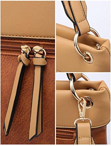 hombro para mujer Bolso Elegant Gris Fashions al qxtn7T