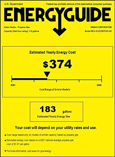 Rinnai RL75iP Propane Tankless Water Heater, 7.5 Gallons Per Minute by Rinnai (Image #1)