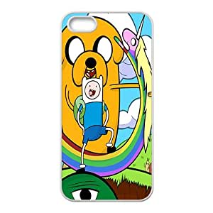 Happy Aadventure time Case Cover For iPhone 5S Case