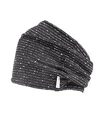 Casualbox mens Head band Accessory Hair Wrap Bandana Japanese Gray- Black