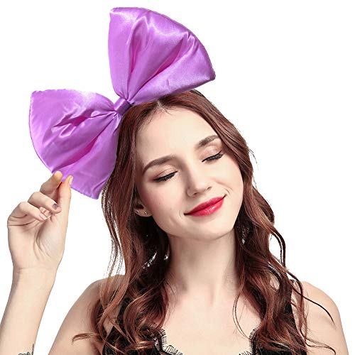 ZTL Women Huge Bow Headband Hairband Hair Hoop Costume Accessories Party Props -