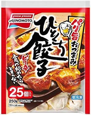 [冷凍]味の素 パリ旨おつまみ ひとくち餃子10g×25個×10袋