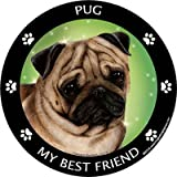 Best Print Wear Clothing Friend Gifts Shirts - Fawn Pug My Best Friend Magnet Review