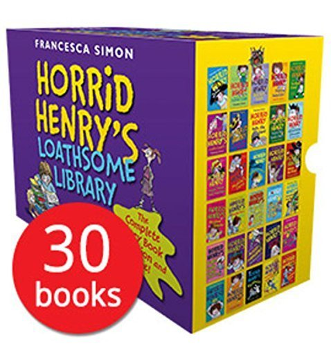 Horrid Henry's Loathsome Library Collection 30 Books Bundle (Horrid Henry,Horrid Henry Meets the Queen,Horrid Henry's Monster Movie,Horrid Henry's Hilariously