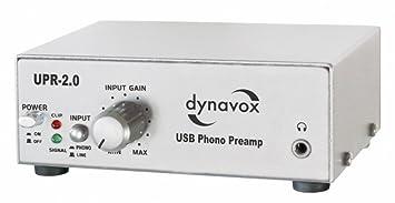 Dynavox UPR-2.0 USB - Preamplificador para tocadiscos con ...
