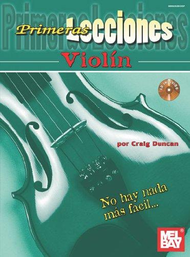 (Primeras Lecciones Violin (Book & CD))