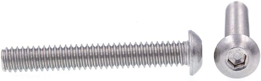 Stainless Steel Ships FREE in USA Style 2 Chamfered Shoulder Captive Panel Screws #6-32X1 75pcs Slotted Drive Knurled High Head Long Dog Cone Point