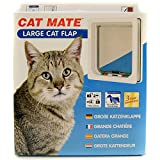 electromagnetic cat door - Cat Mate Large Cat Door White