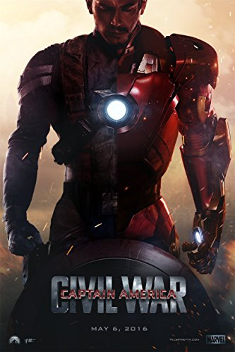 Captain America Civil War Movie Poster Art Silk Print Iron Man 24 inch by 36 inch DY311 -