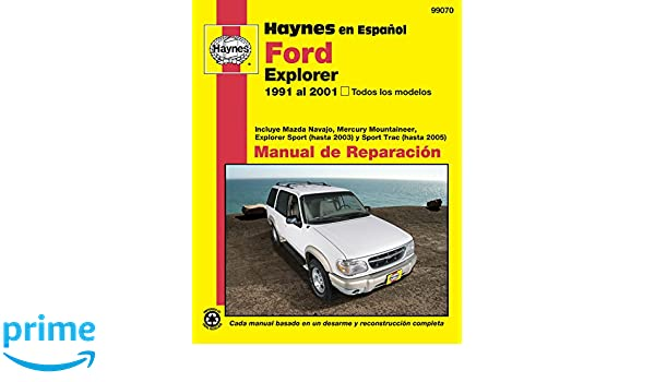 Incluye Mazda Navajo, Mercury Mountaineer, Exp: Amazon.es: Haynes Publishing: Libros en idiomas extranjeros