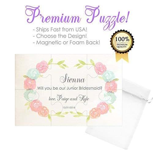 Amazon.com: Will You Be My Junior Bridesmaid Puzzle