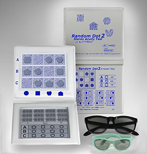 (Random Dot 2 Stereo Acuity Test with Adult & Pediatric Goggles)