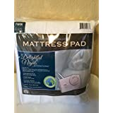 Automatic Heated Mattress Pad Twin Delightful Nights by Biddeford White