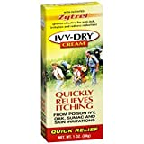 Product review for Ivy Dry Quickly Relieves Itching Cream 1 oz (4 Pack)