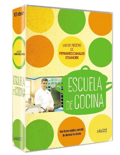 Amazon.com: Escuela de cocina : Las 101 mejores recetas de Fernando Canales: Movies & TV