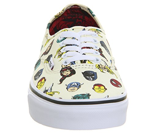 Marvel Bianco Sportive Scarpe Vans multicolor Authentic Avengers FfdwXq