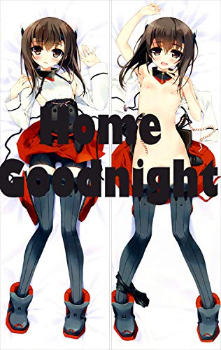 Home Goodnight Kantai Collection Japanese Aircraft Carrier Taihō 150cm x 50cm(59in x 19.6in) 2 Way Tricot Pillowcases