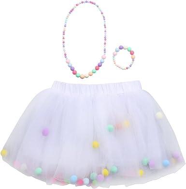 Goosun Tutu Niña Falda Moda Bebé Niños Niñas Princesa Faldas 4 ...