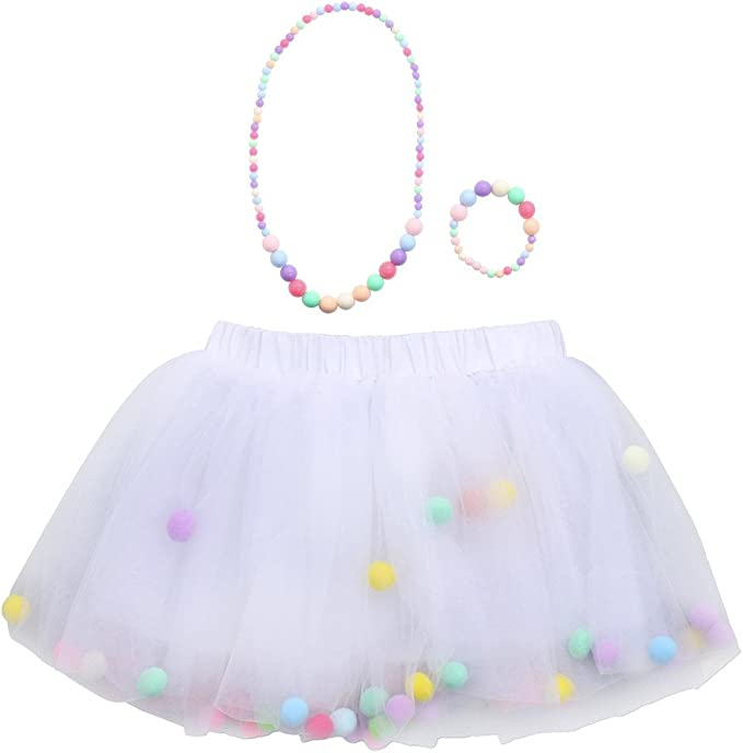 Xmiral Carnaval Disfraz Cosplay Cumpleaños 3Pcs Bebes Niñas Falda ...