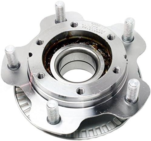 Front Wheel Bearing and Hub Assembly Compatible With 2001-2004 Chevrolet Tracker 01-05 Suzuki Grand Vitara 01-04 Vitara 02-06 XL-7 5 Stud Hub TUCAREST 513193 x2 Pair
