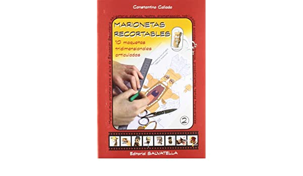 Marionetas Recortables 2: CALLADO: 9788484123446: Amazon.com ...