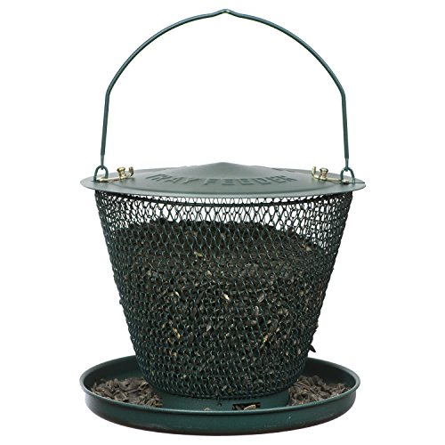 (No/No GUD00319 Forest Green Bird Feeder with)