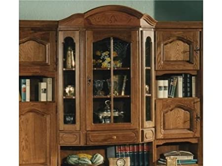 china cabinet hutch. Amazon.com - German Furniture Warehouse China Cabinet, Large, Solid Filled Oak Wood, Hutch With Glass Display And Lots Of Storage Cabinets Cabinet