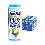 C2O Pure Coconut Water, 17.5 – Ounce Containers (Pack of 12) image