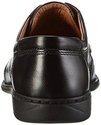 Josef Seibel Steven 16, Zapatos de Cordones Derby para Hombre negro