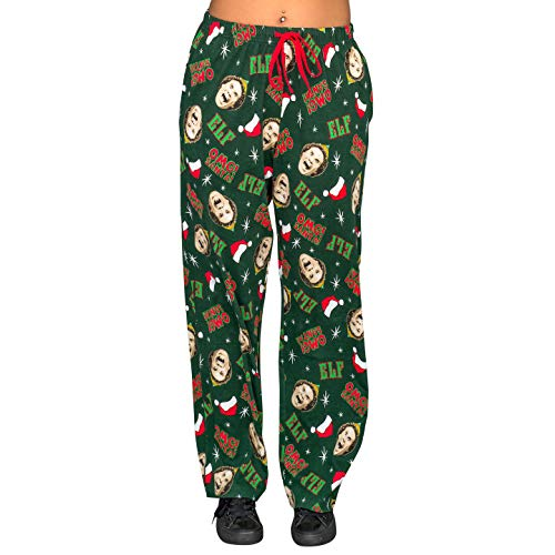 Underboss Elf OMG! Santa! Hunter Green Pajamas Lounge Pants (Adult XX-Large) -