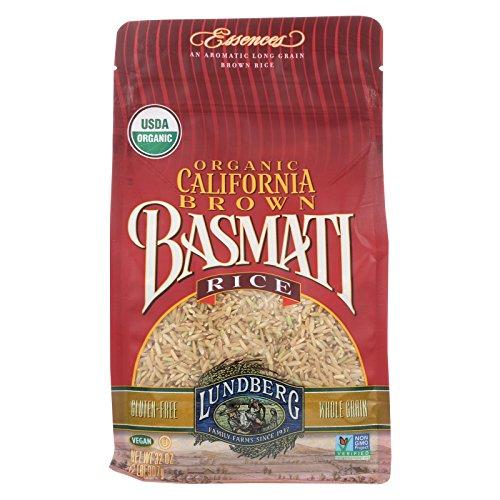 Lundberg Family Farms Organic California Brown Basmati Rice - Case of 6 - 2 lb. by Lundberg