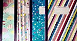 Set of 4 Composition Books, Patterns Vary, 100 Pages