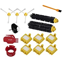 15pcs Roomba 770 Front Caster Wheel +Filters +Brushes Accessory Kits , Hongfa Replacements for iRobot Roomba 770 760 780 Series