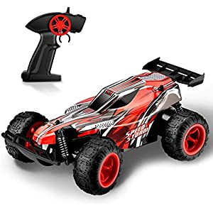 TOYEN RC Cars Off Road Truck Electric Racing Remote Control Car 2.4Ghz 2WD High Speed 1:22 Radio Control Cars Hobby Toy