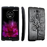 DuroCase ® LG G Flex2 H950 / H955 / US995 / LS996 (released in 2015) Hard Case Black - (Black Tree)