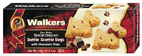 Walkers Shortbread Dottie Scottie, 3.9 Ounce