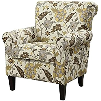 coaster home furnishings casual accent chair brown