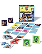 Ravensburger Paw Patrol The Movie Mini Memory Matching Picture Snap Pairs Game for Kids Age 3 Years and Up