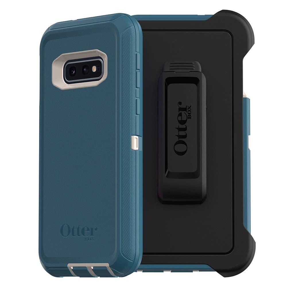 OtterBox DEFENDER SERIES Case for Galaxy S10e - Retail Packaging - BIG SUR (PALE BEIGE/CORSAIR)