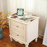 Tablecloth/pvc table mat/[shoebox],bedside table cloth/table cloth/tv cabinet table-cloth/[pad]/european-style tablecloths-A 40x50cm(16x20inch)