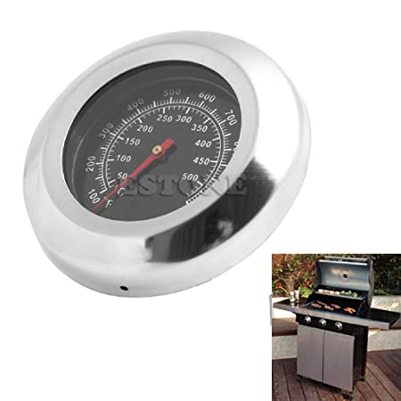 Fanst Temperature Tester,50-500? BBQ Meat Thermometer Kitchen Oven Grill Temperature Gauge 100~1000? New